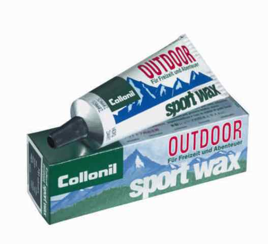 Collonil Outdoor Sport wax černý